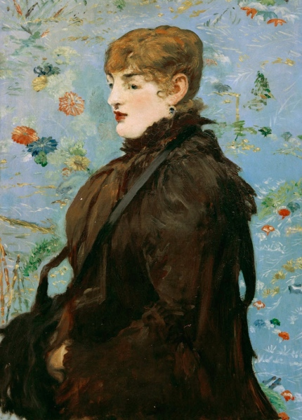 É.Manet, Der Herbst (Méry Laurent) - E.Manet, Autumn (Méry Laurent) -