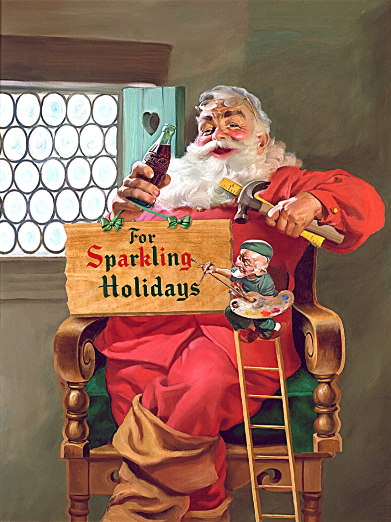Coca-Cola-Art_Christmas_Santa11