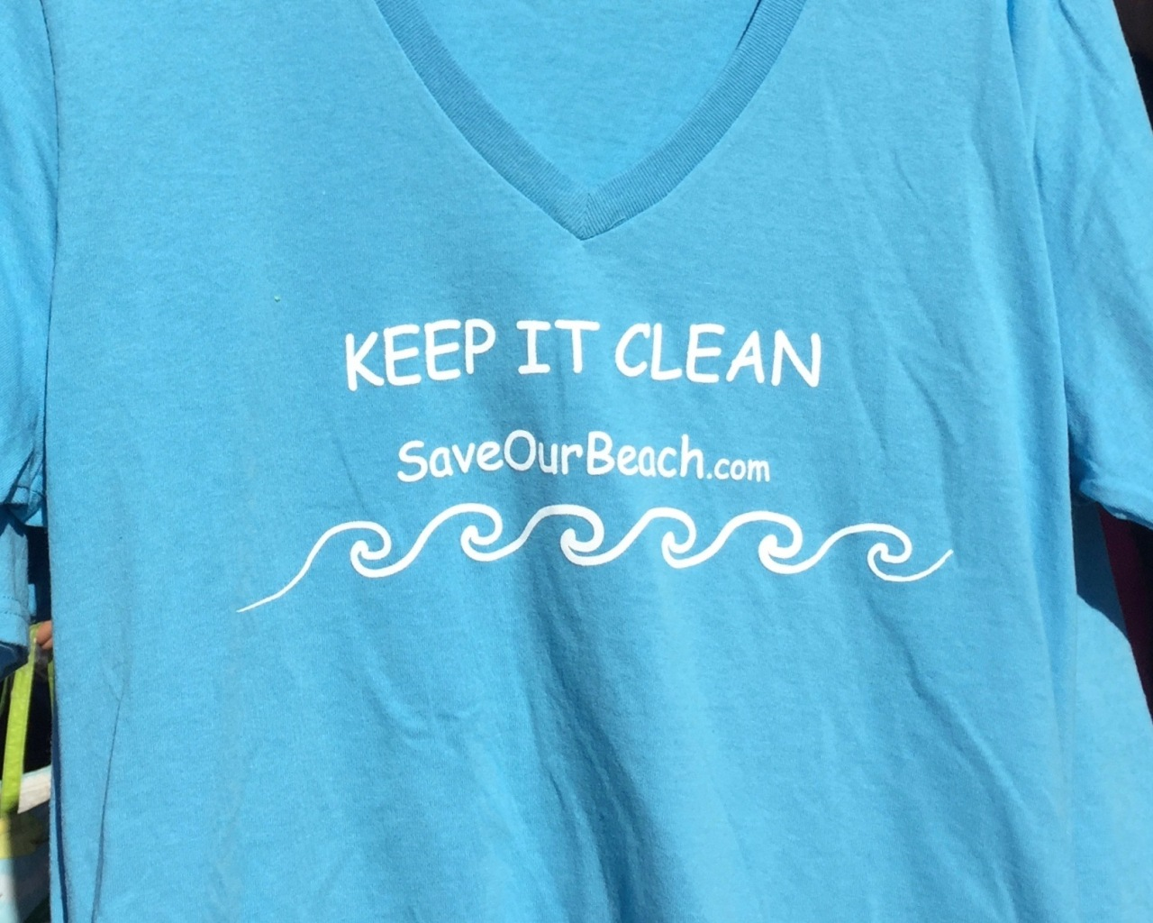 """SAVE OUR BEACH"""