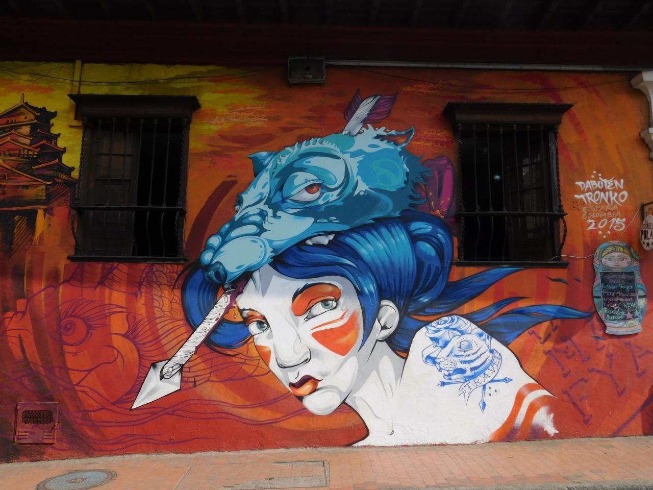 GRAFFITI EN BOGOTÁ